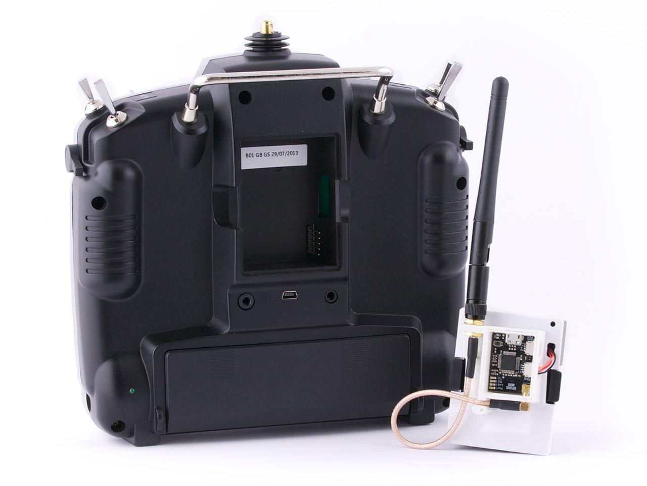 Oplm Vehicle Control Link Librepilot Openpilot Wiki 014 Frsky Cc3d Wiring Diagram Mounting The Oplink Module To Transmitter